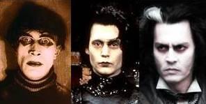 Cesare (1920), Eduardo Manostijeras (1990), Sweeney Todd (2007)