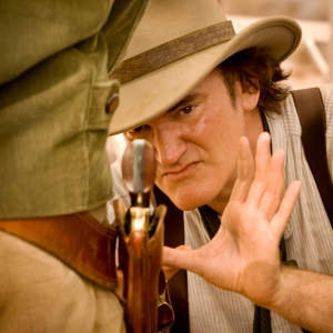 "Quentin Tarantino dirige ""Django Unchained"""