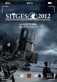 Cartel del festival de Sitges 2012