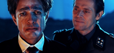 "Jeff Goldblum y Willem Dafoe en ""Adam resucitado"""