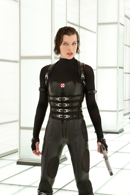 "Milla Jovovich en ""Resident Evil: Venganza"""