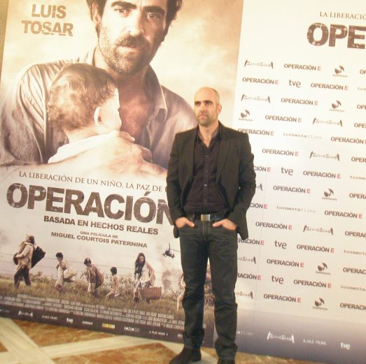 """Luis Tosar en la presentación de """"Operación E"""" en Madrid"""