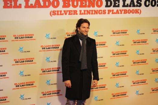 """Bradley Cooper presenta """"El lado bueno de las cosas"""" en Madrid"""