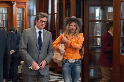 """Colin Firth y Cameron Díaz en """"Un plan perfecto"""" (Gambit)"""