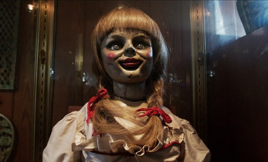 "La muñeca Anabelle en ""Expediente Warren: The Conjuring"""