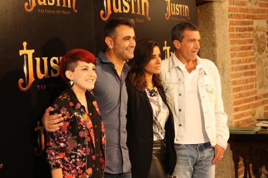 Angy, Manuel Silvano, Inma Cuesta y Antonio Banderas