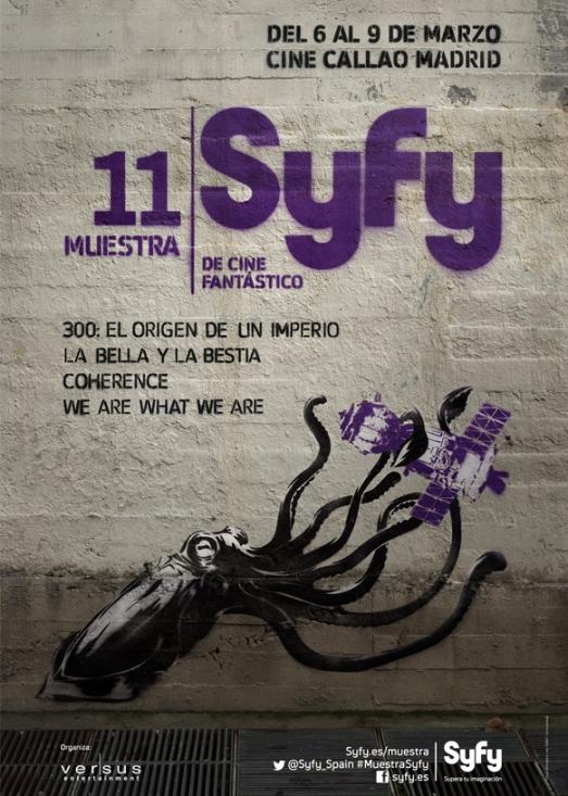 Cartel de la Muestra SyFy 2014
